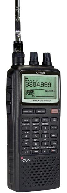 Icom R20 Wideband Scanner Receiver Ic R20