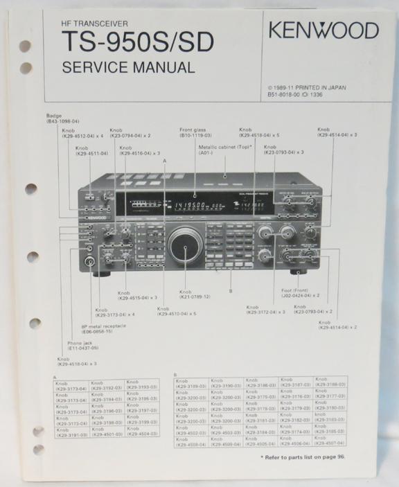 Kenwood Ts-790 Service Manual - iginstalsea