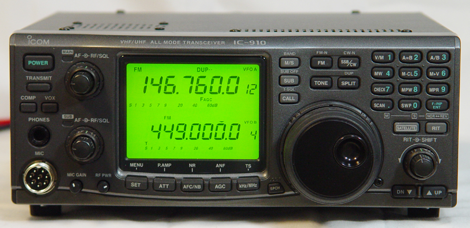 Sold462 on icom transceiver