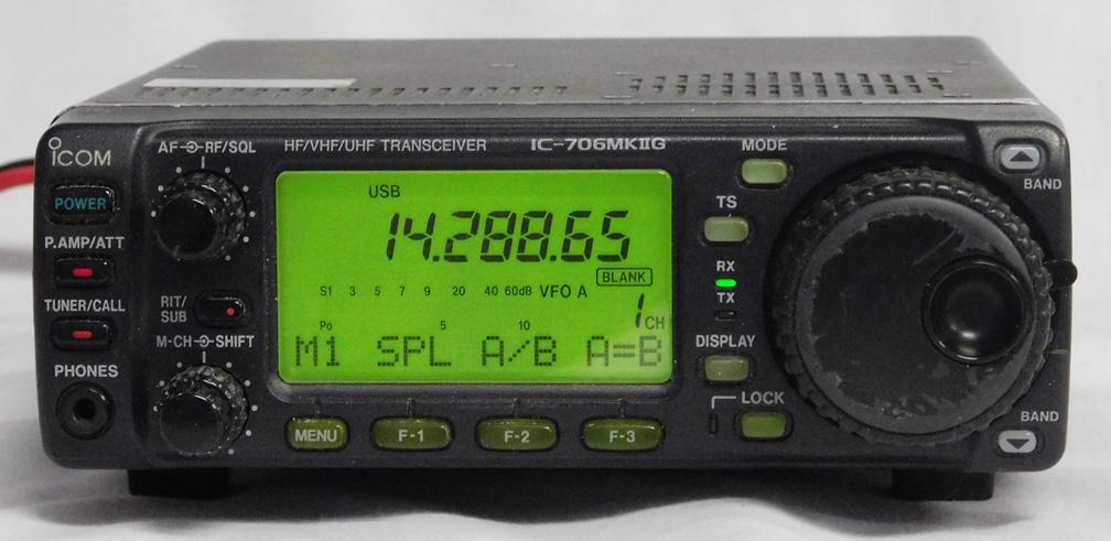 Icom IC-706, Icom IC-706MkII, Icom IC-706MkIIG, Icom OPC-581