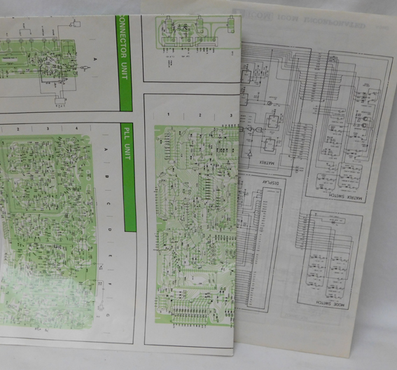 Icom 745 Service manual