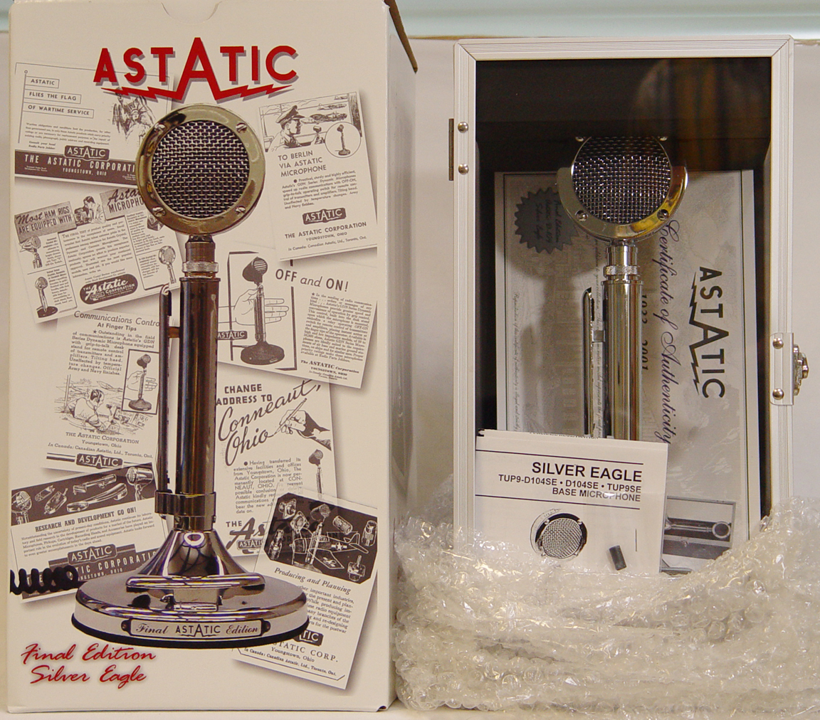 The Astatic D104 Silver Eagle- Final Edition ...