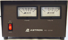 Amazon.com: Astron RS35M 35 AMP POWER SUPPLY WITH METER ...