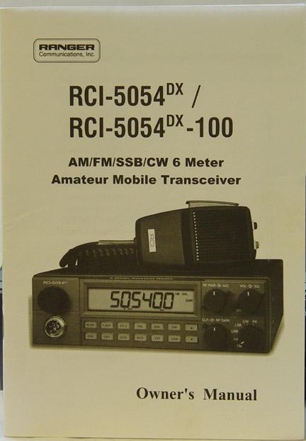 Ranger RCI-5054, Ranger RCI-2950 Transceiver