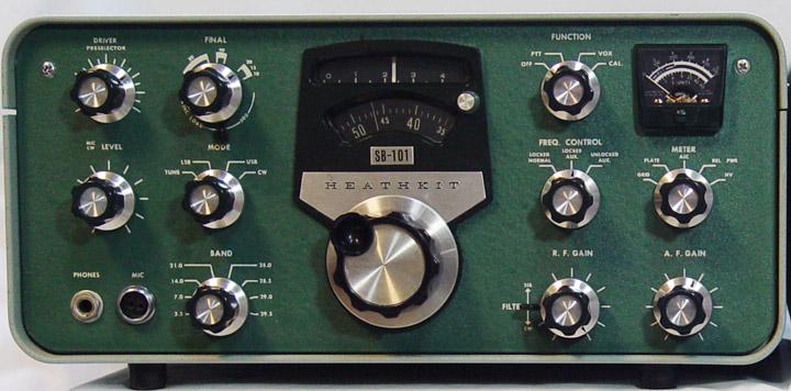 Heathkit SB 104 Transceiver Heathkit SB 604 Speaker HP 1144