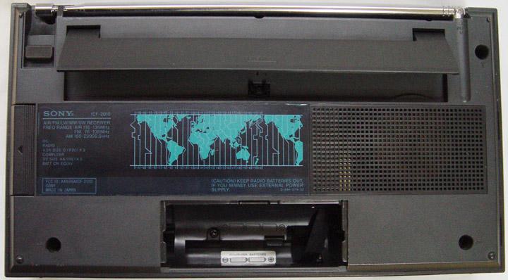 sony dream machine icf c707 manual