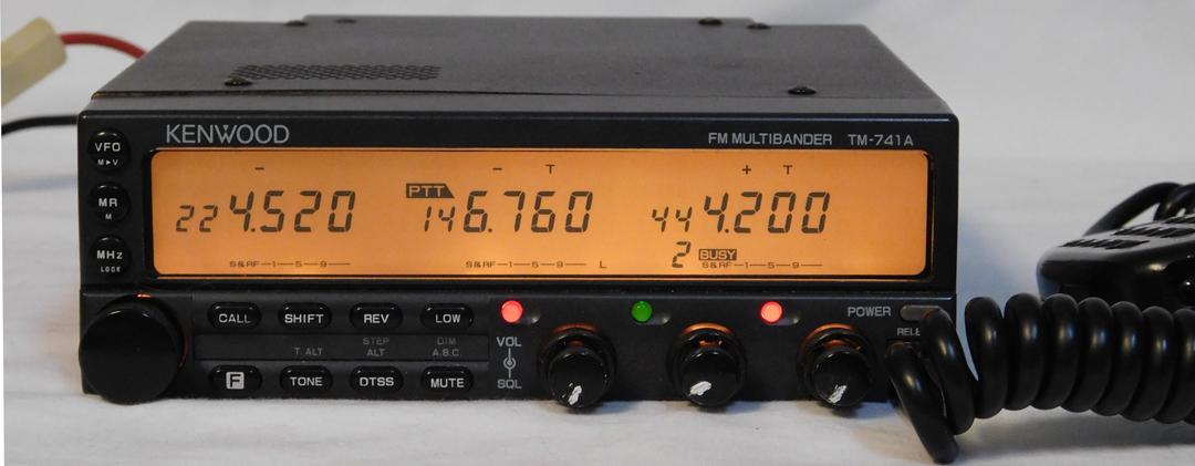 kenwood tm 741a kenwood tm 742a rh universal radio com Kenwood Stereo Kenwood TM D700