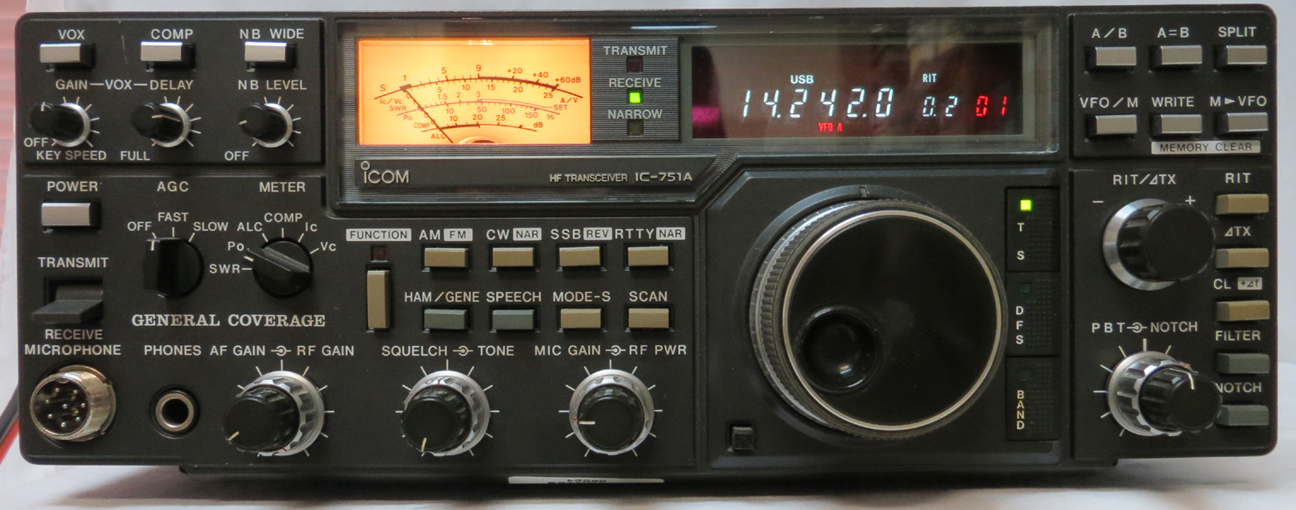 UR33 Icom IC-751A $ 459.95 SOLD