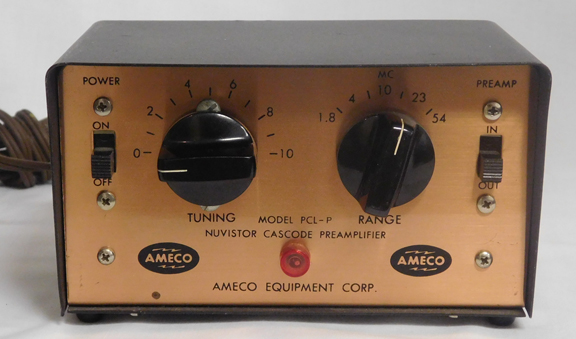 Ameco pt 3 Preamp manual