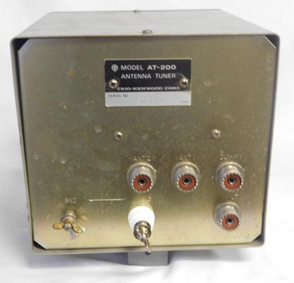 Kenwood AT-200, AT-230, AT-250 Antenna Tuner