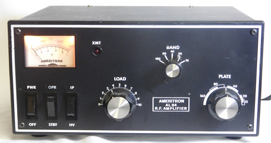 160 meter high power amateur amplifiers