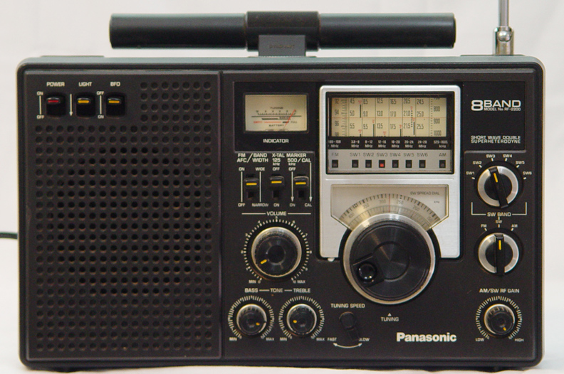 Panasonic RF-2200 rf2200, Panasonic RD9820 on panasonic portable multiband receiver, panasonic rf 5000, panasonic rf-4800,