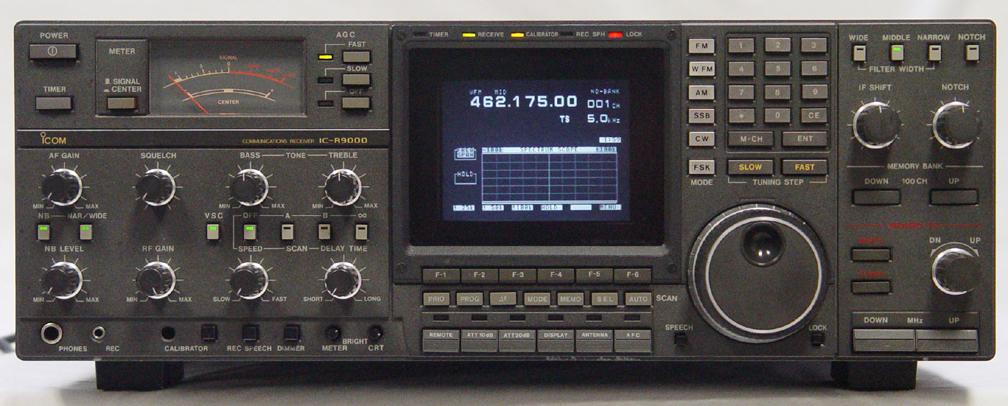 icom r9000 receiver  icom ic r9000