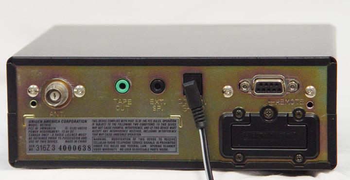 uniden bct 8 rh universal radio com Scanner Uniden Radar Detector Uniden BCT15