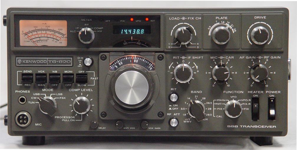 Kenwood TS-820: Radio Communication