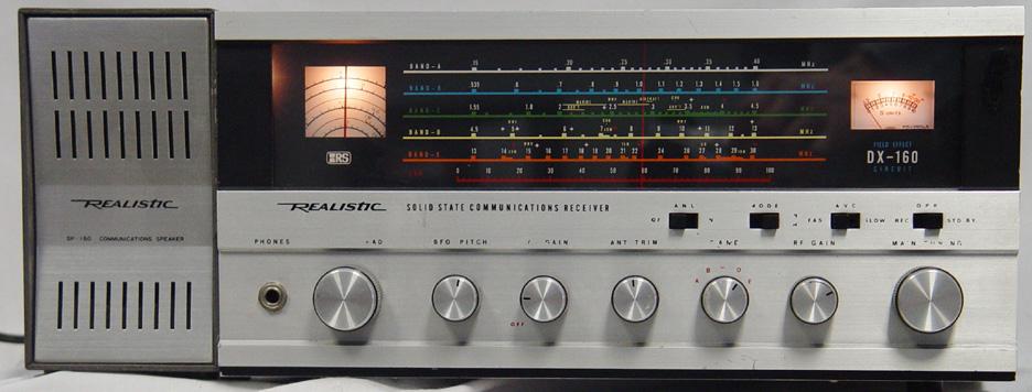 Realistic DX-160 Radio Shack dx160 sp-150 speaker