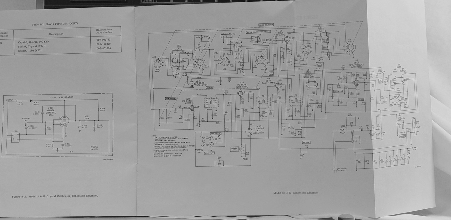Hallicrafters Sx 122 133 130 1994 Dakota Fuse Box Diagram S N