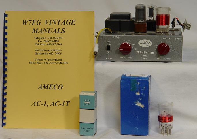 Ameco AC-1 Novice Transmitter, Ameco CPS Code Oscillator