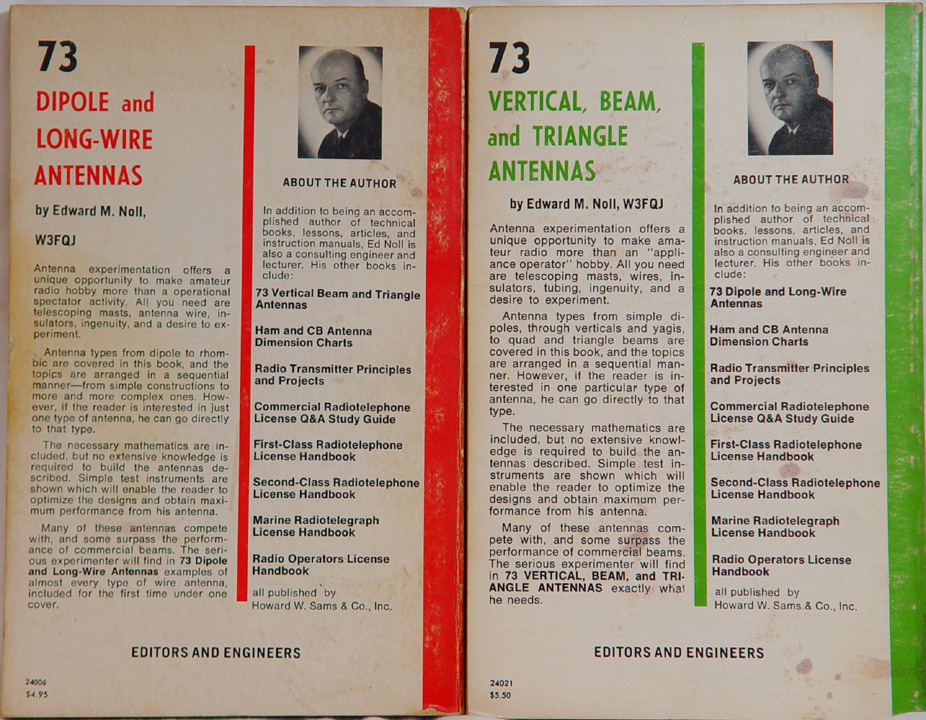 73 vertical beam and triangle antennas by edward m noll