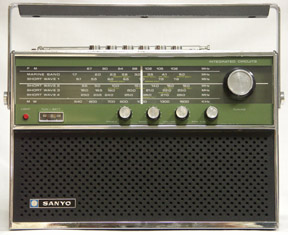 Sanyo 16ha 862 Shortwave Radio 16ha862