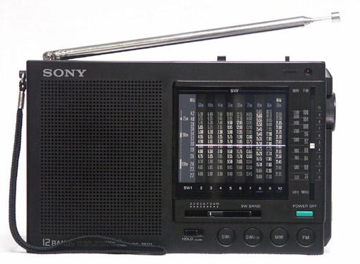 sony radio icf sw7600gr manual