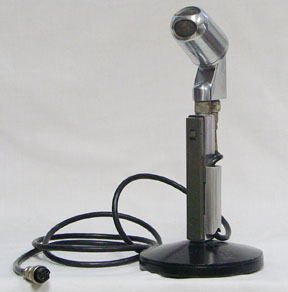 the electrovoice 638 desk mic has ptt with lock button  it has a 4 pin mic  plug  [04/07]
