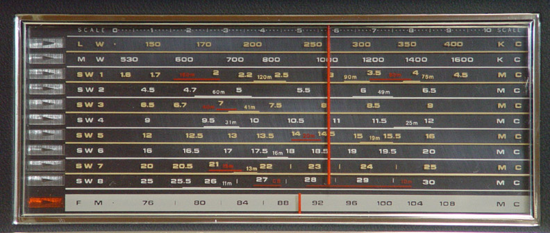 Panasonic Rf 5000 Shortwave Radio Receiver Rf5000